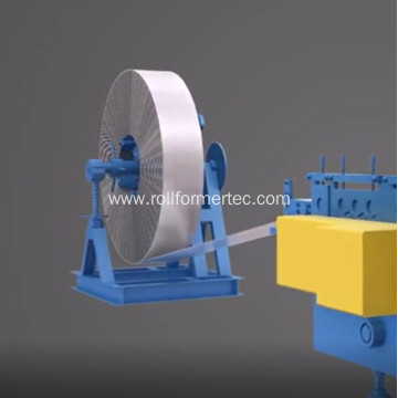 C roll forming C channel rolling machine
